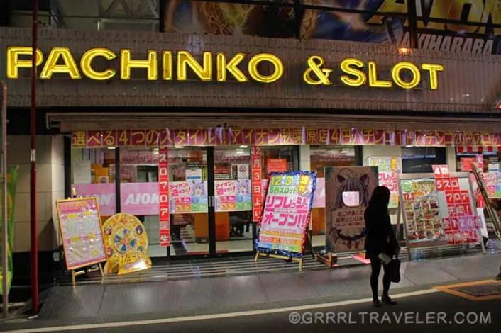 Pachinko and slots Akihabara tokyo