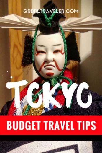 budget travel tips tokyo, budget travel tips japan, tokyo budget travel guide