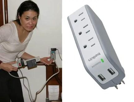 belkin usb power surge outlet, travel power outlets, Belkin Surge Plus Mini Travel Charger
