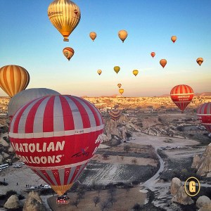 hot air balloon ride cappadocia, voyager balloons cappadocia, Top 5 Instagrams, traveling from Greece to Turkey