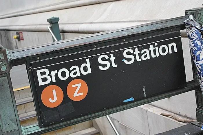 New York Subway, broad street station