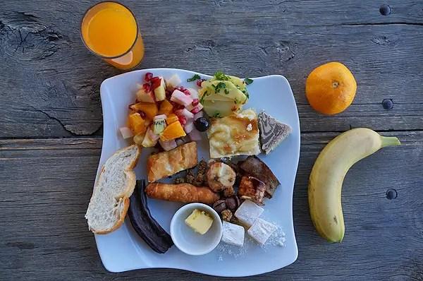 turkish breakfast, kelebek hotel