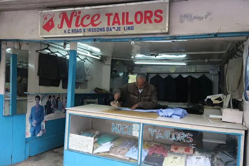 tailors in darjeeling, darjeeling tailors
