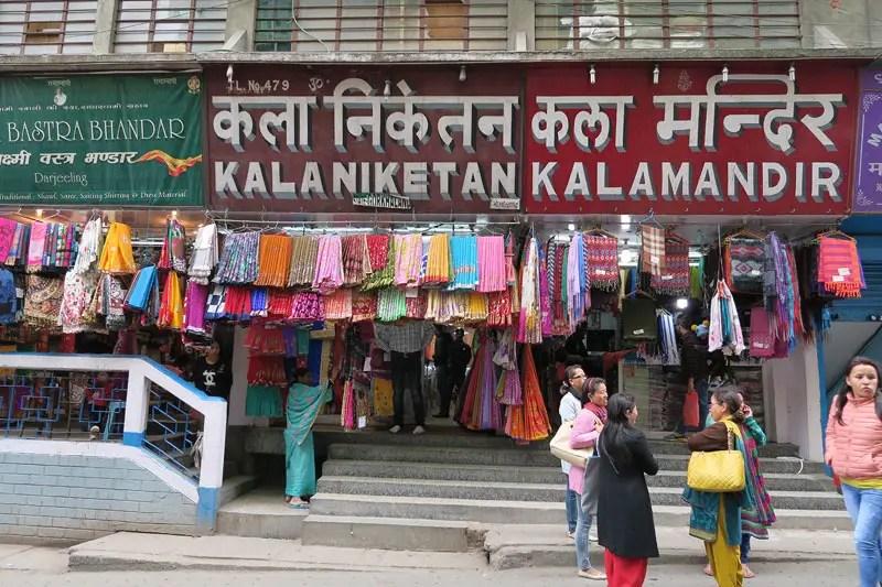 Chowk Bazaar Darjeeling