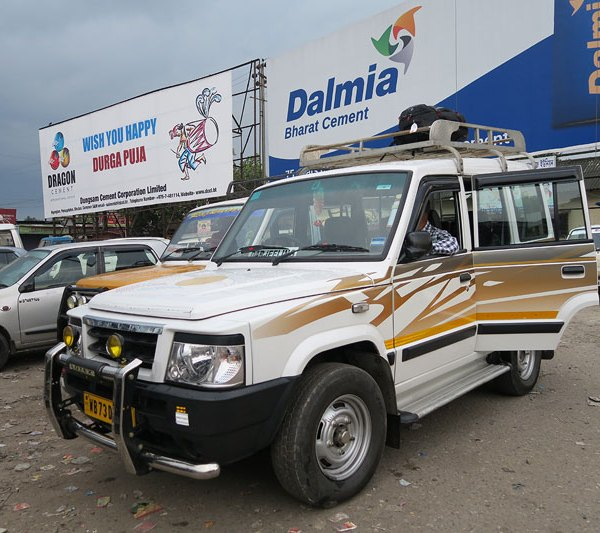 Jeep taxis, New Jaigalpuri Station