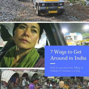 India Transportation, getting around india