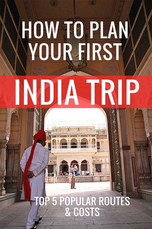 how to plan your first india trip