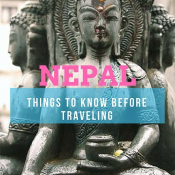 Things to know before traveling Nepal | Pin to Pinterest