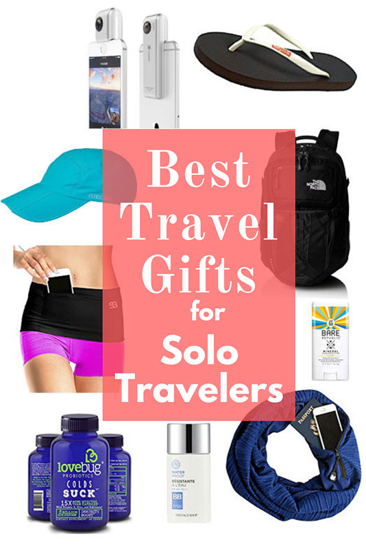 best travel gifts for solo travelers, best gifts for solo travelers