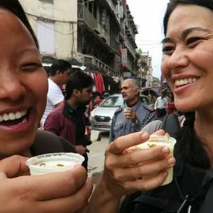 Food tour Kathmandu, best lassi kathmandu, thamel lassi shop