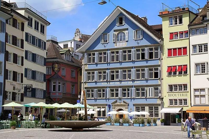 Old Historical Town Zurich