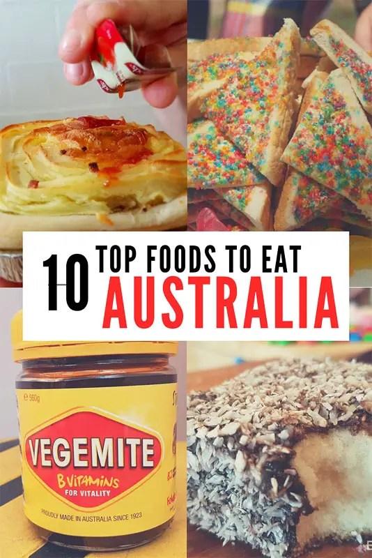 10 TOP FOODS OF AUSTRALIA