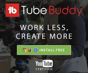 Tubebuddy, optimizing youtube videos, gain youtube views
