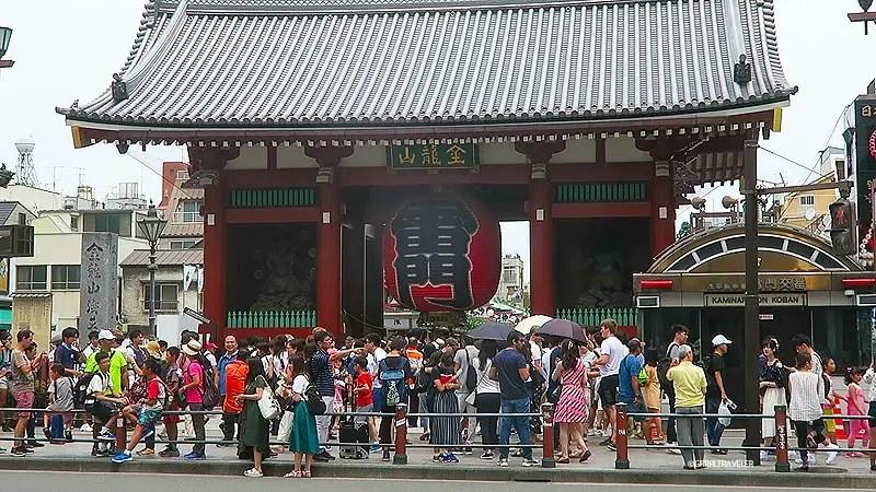 sensoji kaminarimon, asakusa travel guide, asakusa attractions, best things to do in asakusa tokho