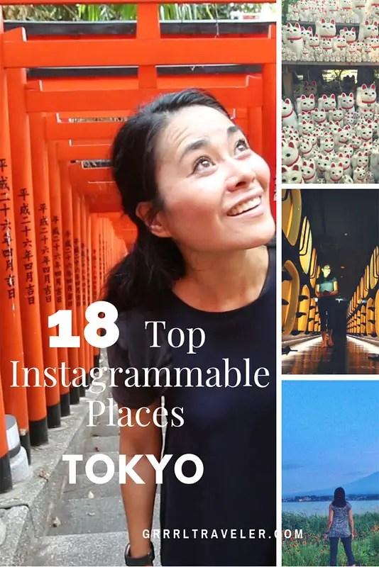 top instagrammable places in Tokyo, instagram tokyo