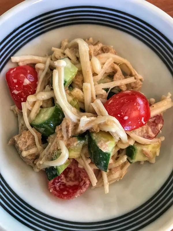 wasabe salad
