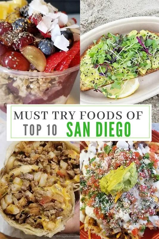 Best foods to eat in san diego