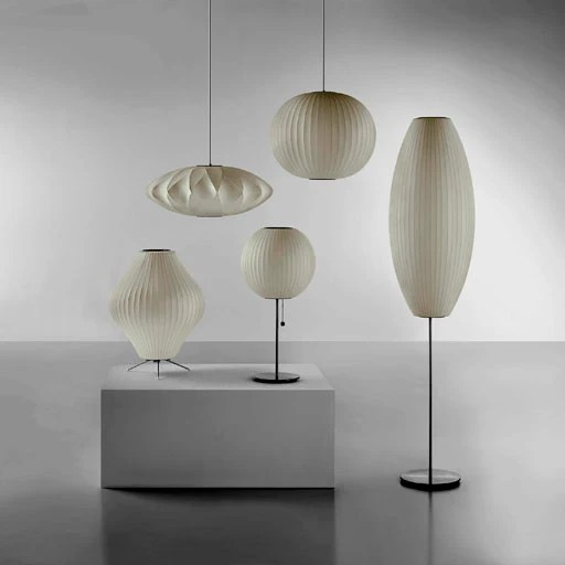herman miller nelson bubble lamps