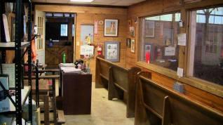 Indoor viewing area