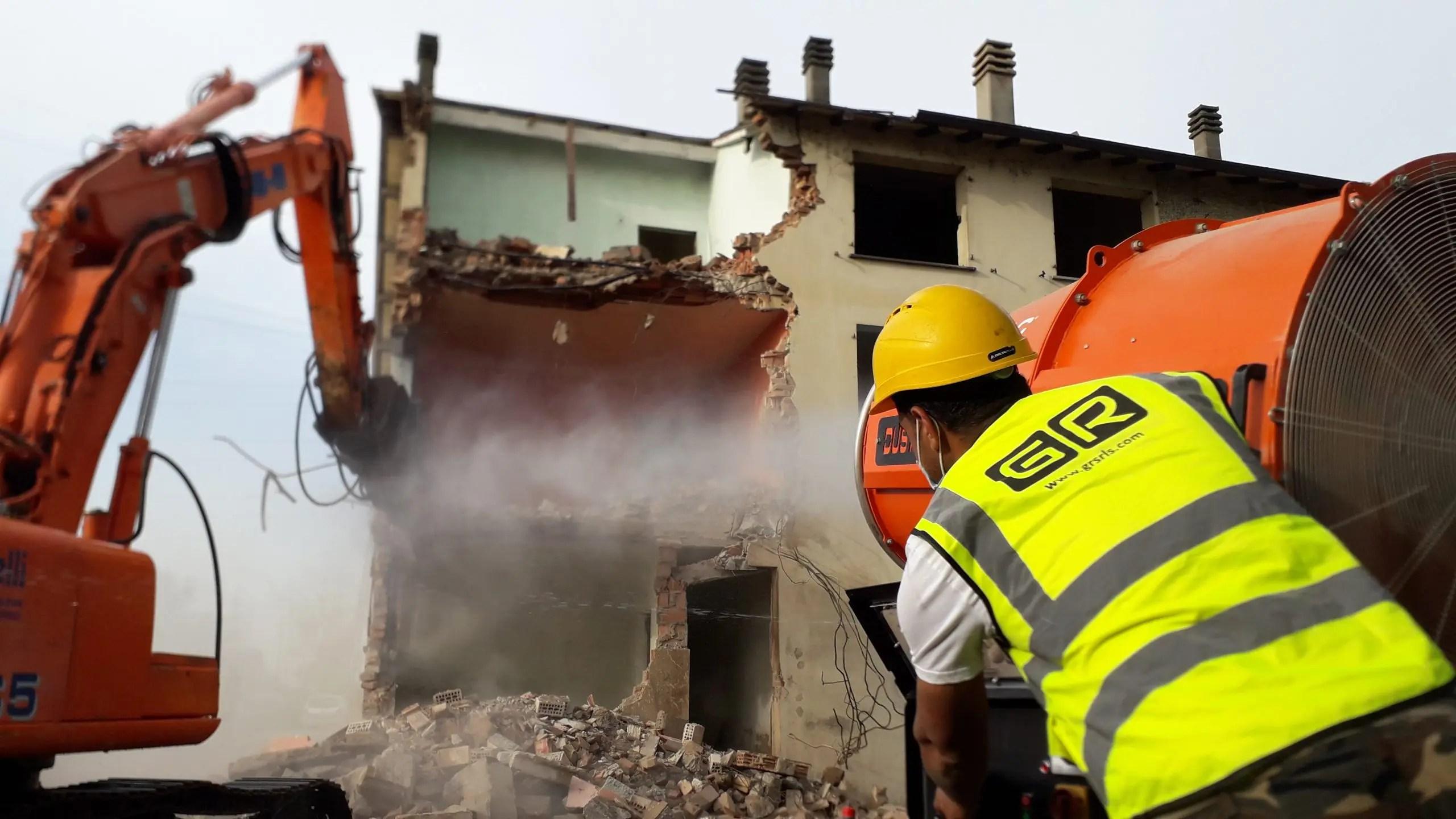 ristrutturazioni reggio emilia demolizione edificio