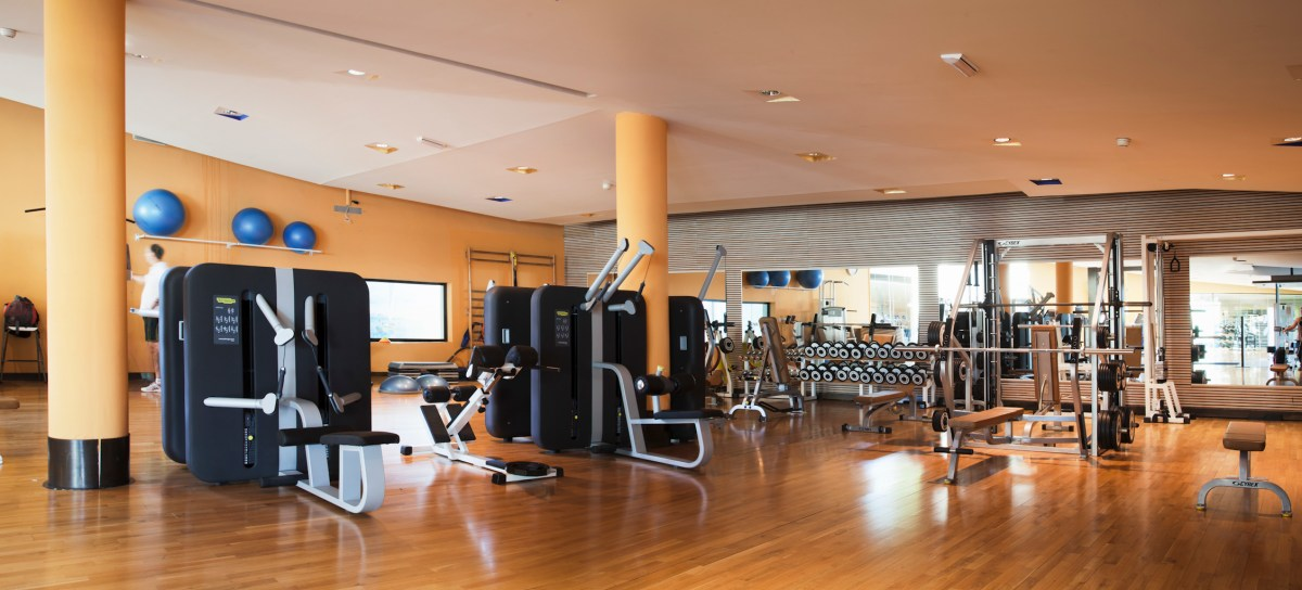 Sala fitness del Real Club de Polo de Barcelona