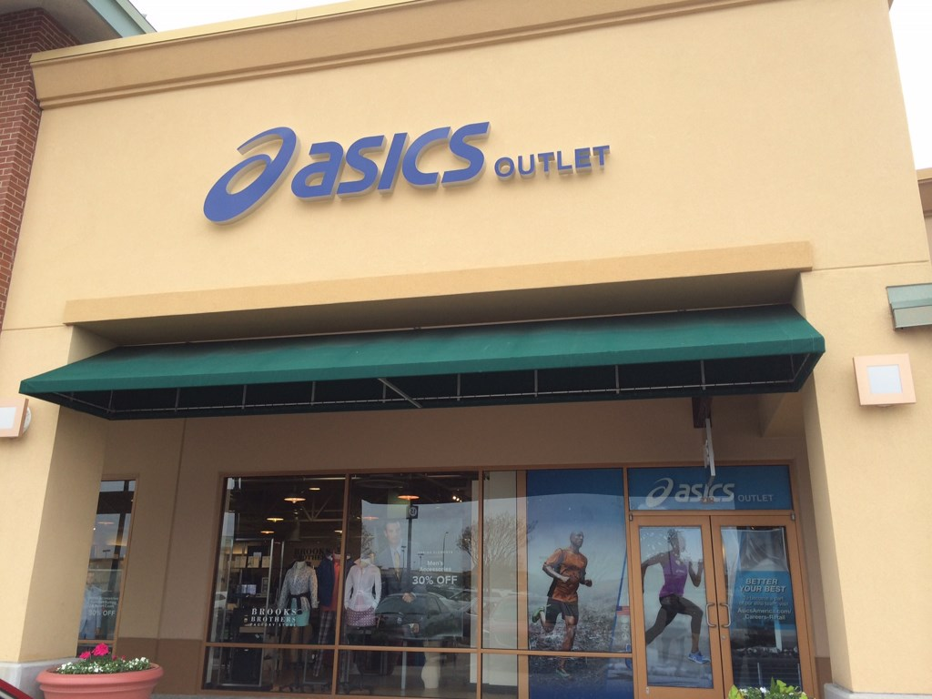 allen outlet mall asics