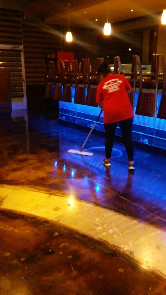 Japanese Restaurant Strip And Seal Floors In Dallas Tx