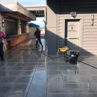 Haywire Restaurant Roof Top Final Post Construction Cleaning in Plano, TX