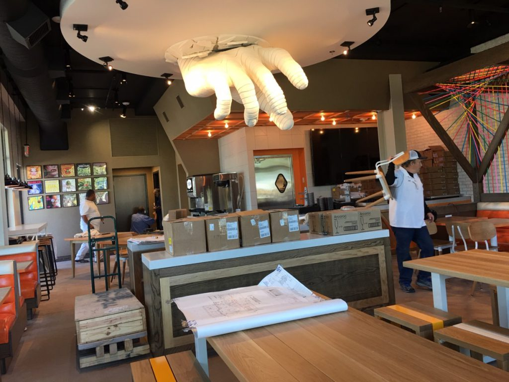 Stack Restaurant Rough Post Construction Cleaning Southlake TX 011 1024x768 Stack Restaurant Rough Post Construction Cleaning, Southlake, TX
