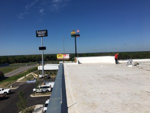 Hotel Marriott Roof Post Construction Cleaning in Van TX 011 300x225 Pressure Washing & Power Washing Services