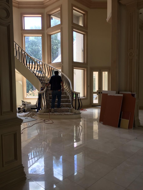 Large Corner Mansion Final Post Construction Cleaning in Dallas TX 00014 Large Corner Mansion Final Post Construction Cleaning in Dallas, TX