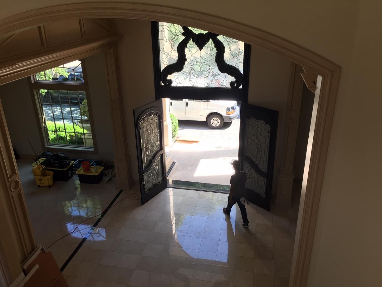 Large Corner Mansion Final Post Construction Cleaning in Dallas TX 00024 Large Corner Mansion Final Post Construction Cleaning in Dallas, TX