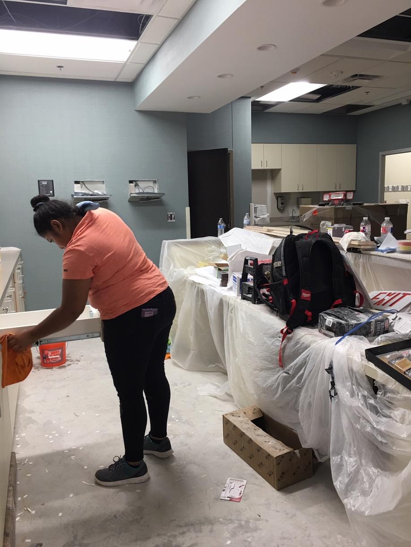 Surgery Center Rough Post Construction Clean Up in Dallas TX 004 Surgery Center Rough Post Construction Clean Up in Dallas, TX