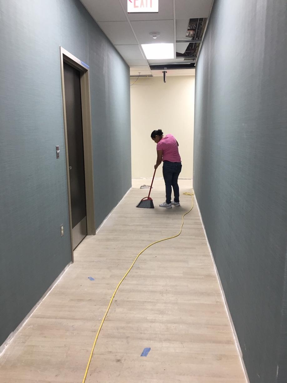 Surgery Center Rough Post Construction Clean Up in Dallas TX 011 Surgery Center Rough Post Construction Clean Up in Dallas, TX