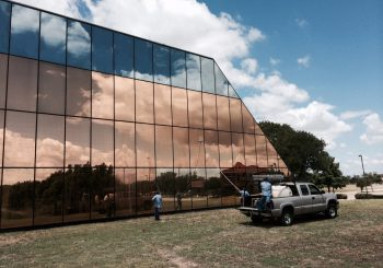 Phase 2 450000 sf. Exterior Windows Cleaning in Dallas TX 14 11552c95a4aae9ed01bb2b2c4c62a8ae 350x245 100 crop Glass Building 450,000+ sf. Exterior Windows Cleaning Phase 2 in Dallas, TX