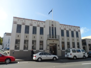 The old Daily Telegraph building in Napier