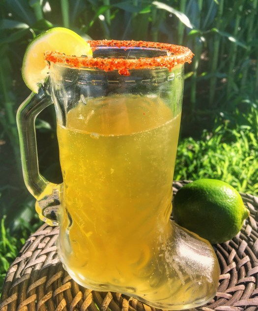 mexican beer cocktail, michelada