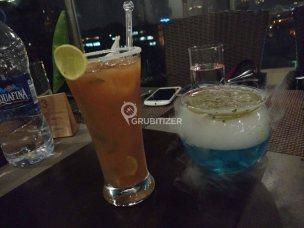 Spicy Guava (L) and Tedhi Medhi Martini (R)
