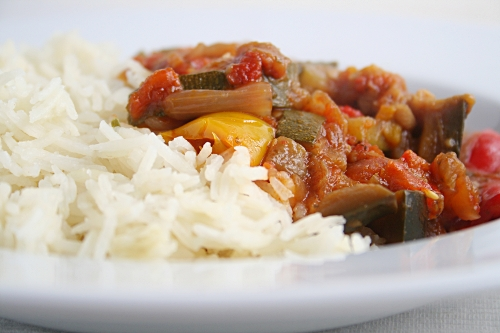 Ratatouille and Rice