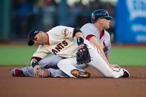 MLB: OCT 15 NLCS - Game 2 - Cardinals at Giants
