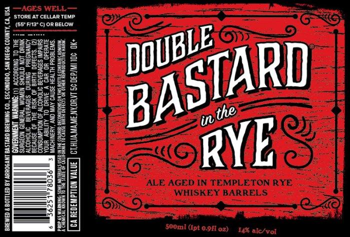 Arrogant Bastard Double Bastard in the Rye