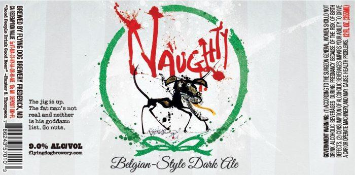 Flying Dog Naughty Belgian Dark Ale