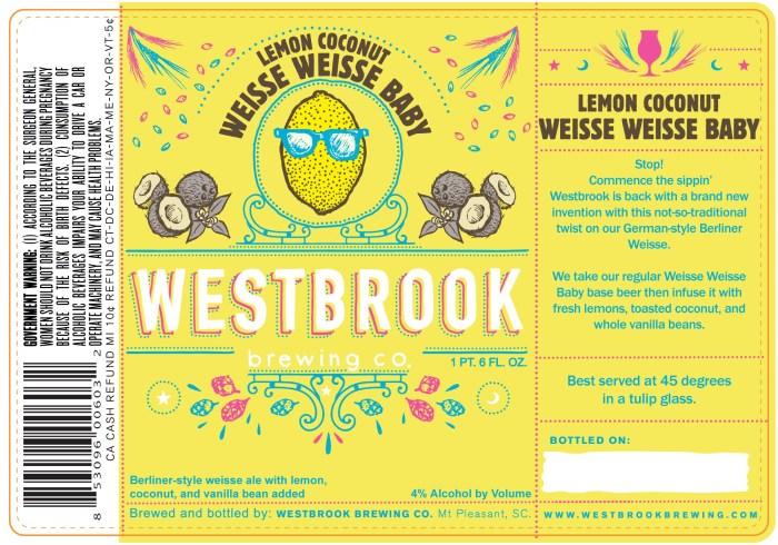 Westbrook Lemon Coconut Weisse Weisse Baby