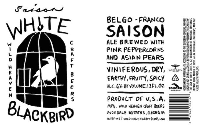 Wild Heaven White Blackbird Saison