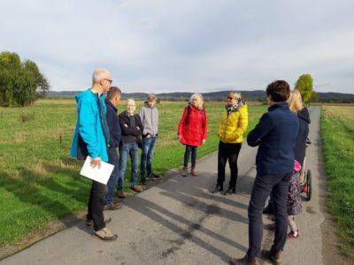Lemgoer und Bad Salzufler Grüne beraten mit Anwohnern der Hengstheide zu den Plänen zum Interkommunalen Gewerbegebiet