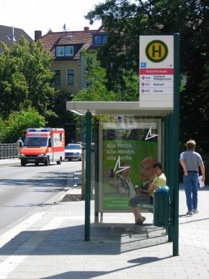 Bushaltestelle Goslarsche Straße, Foto by Bündnis 90 Die Grünen Braunschweig