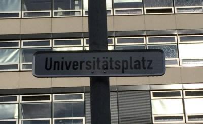 Universitätsplatz, Bild: Bündnis 90/Die Grünen Braunschweig