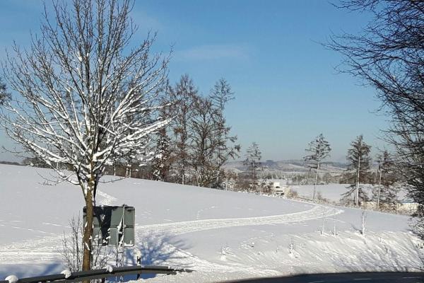 Winterlandschaft in Meinerzhagen