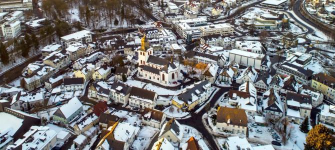 Fotoschau: Meinerzhagen im Winterkleid
