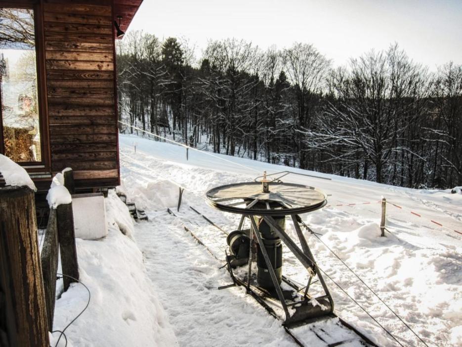 Wintersport in Meinerzhagen: Skilift Hardenberg © 2017 Foto: Stefanie Schildchen